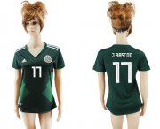 Wholesale Cheap Women's Mexico #17 J.Rascon Home Soccer Country Jersey