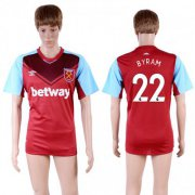 Wholesale Cheap West Ham United #22 Byram Home Soccer Club Jersey