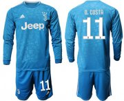 Wholesale Cheap Juventus #11 D.Costa Third Long Sleeves Soccer Club Jersey