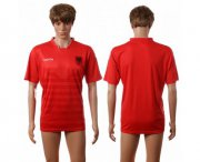 Wholesale Cheap Albania Blank Home Soccer Country Jersey