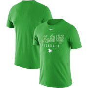 Wholesale Cheap New York Mets Nike MLB Practice T-Shirt Green