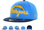 Wholesale Cheap Los Angeles Chargers fitted hats 07
