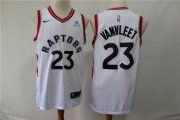 Wholesale Cheap Raptors 23 Fred Vanvleet White Nike Swingman Jersey