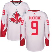 Wholesale Cheap Team CA. #9 Matt Duchene White 2016 World Cup Stitched NHL Jersey