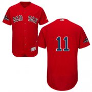 Wholesale Cheap Red Sox #11 Rafael Devers Red Flexbase Authentic Collection 2018 World Series Champions Stitched MLB Jersey