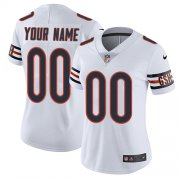 Wholesale Cheap Nike Chicago Bears Customized White Stitched Vapor Untouchable Limited Women's NFL Jersey