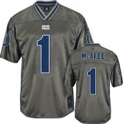 Wholesale Cheap Nike Colts #1 Pat McAfee Grey Youth Stitched NFL Elite Vapor Jersey