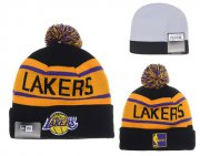 Wholesale Cheap Los Angeles Lakers Beanies YD003
