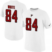Wholesale Nike Atlanta Falcons #84 Roddy White Pride Name & Number NFL T-Shirt White