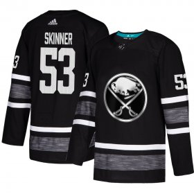 Wholesale Cheap Adidas Sabres #53 Jeff Skinner Black Authentic 2019 All-Star Youth Stitched NHL Jersey