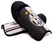 Wholesale Cheap Juventus Soccer Shin Guards White & Black