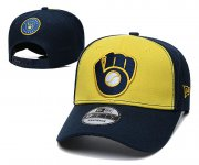 Wholesale Cheap 2021 MLB Milwaukee Brewers Hat TX326