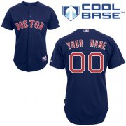 Wholesale Cheap Red Sox Personalized Authentic Blue MLB Jersey (S-3XL)
