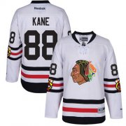 Wholesale Cheap Blackhawks #88 Patrick Kane White 2017 Winter Classic Stitched Youth NHL Jersey