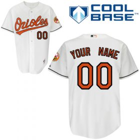 Wholesale Cheap Orioles Personalized Authentic White MLB Jersey (S-3XL)