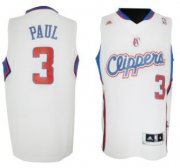 Wholesale Cheap Los Angeles Clippers #3 Chris Paul Revolution 30 Swingman White Jersey