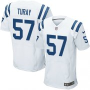 Wholesale Cheap Nike Colts #57 Kemoko Turay White Men's Stitched NFL Elite Jersey