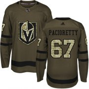 Wholesale Cheap Adidas Golden Knights #67 Max Pacioretty Green Salute to Service Stitched NHL Jersey