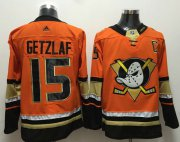 Wholesale Cheap Adidas Ducks #15 Ryan Getzlaf Orange Authentic Stitched NHL Jersey