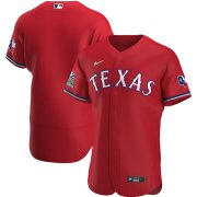 Wholesale Cheap Texas Rangers Men's Nike Scarlet Alternate 2020 Authentic Team MLB Jersey
