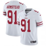Wholesale Cheap Nike 49ers #91 Arik Armstead White Youth Stitched NFL Vapor Untouchable Limited Jersey
