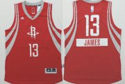 Wholesale Cheap Houston Rockets #13 James Harden Revolution 30 Swingman 2014 Christmas Day Red Jersey