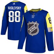 Wholesale Cheap Adidas Lightning #88 Andrei Vasilevskiy Royal 2018 All-Star Atlantic Division Authentic Stitched NHL Jersey