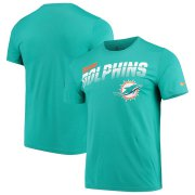 Wholesale Cheap Miami Dolphins Nike Sideline Line of Scrimmage Legend Performance T-Shirt Aqua