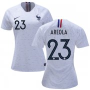 Wholesale Cheap Women's France #23 Areola Away Soccer Country Jersey