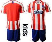 Wholesale Cheap Atletico Madrid Blank Home Kid Soccer Club Jersey