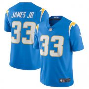 Wholesale Cheap Los Angeles Chargers #33 Derwin James Jr Men's Nike Powder Blue 2020 Vapor Limited Jersey