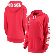 Wholesale Cheap Boston Red Sox G-III 4Her by Carl Banks Women's 12th Inning Pullover Hoodie Red