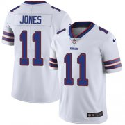 Wholesale Cheap Nike Bills #11 Zay Jones White Men's Stitched NFL Vapor Untouchable Limited Jersey