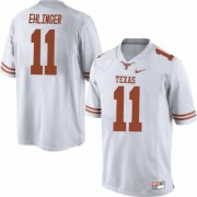 Wholesale Cheap Men's Nike #11 Sam Ehlinger Texas Longhorns Replica White Mens Football College Jersey