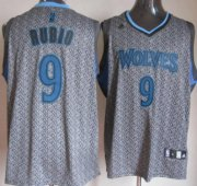 Wholesale Cheap Oklahoma City Thunder #9 Serge Ibaka Gray Static Fashion Jersey