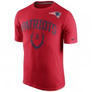 Wholesale Cheap Men's New England Patriots Nike Red Legend Icon Performance T-Shirt