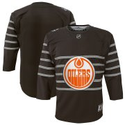 Wholesale Cheap Youth Edmonton Oilers Gray 2020 NHL All-Star Game Premier Jersey