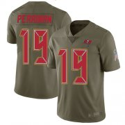 Wholesale Cheap Nike Buccaneers #19 Breshad Perriman Olive Youth Stitched NFL Limited 2017 Salute to Service Jersey
