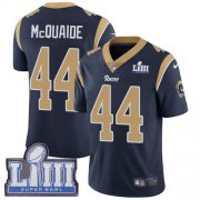 Wholesale Cheap Nike Rams #44 Jacob McQuaide Navy Blue Team Color Super Bowl LIII Bound Men's Stitched NFL Vapor Untouchable Limited Jersey