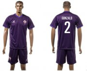Wholesale Cheap Florence #2 Gonzalo Home Soccer Club Jersey