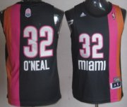 Wholesale Cheap Miami Floridians #32 Shaquille O'neal ABA Hardwood Classic Swingman Black Jersey