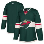Wholesale Cheap Adidas Wild Blank Green Home Authentic Stitched Youth NHL Jersey