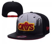 Wholesale Cheap NBA Cleveland Cavaliers Snapback Ajustable Cap Hat YD 03-13_35
