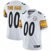 Wholesale Cheap Nike Pittsburgh Steelers Customized White Stitched Vapor Untouchable Limited Men's NFL Jersey