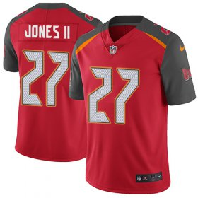 Wholesale Cheap Nike Buccaneers #27 Ronald Jones II Red Team Color Youth Stitched NFL Vapor Untouchable Limited Jersey