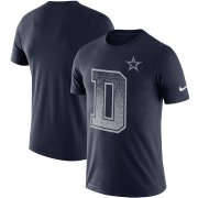 Wholesale Cheap Dallas Cowboys Nike Local Verbiage Performance T-Shirt Navy