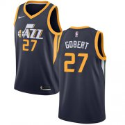 Wholesale Cheap Nike Jazz #27 Rudy Gobert Navy NBA Swingman Icon Edition Jersey