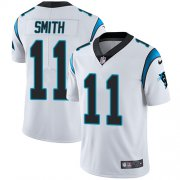 Wholesale Cheap Nike Panthers #11 Torrey Smith White Youth Stitched NFL Vapor Untouchable Limited Jersey
