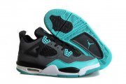 Wholesale Cheap Air Jordan 4 Retro TIFFANY Shoes Blue/black-white