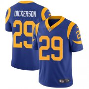 Wholesale Cheap Nike Rams #29 Eric Dickerson Royal Blue Alternate Youth Stitched NFL Vapor Untouchable Limited Jersey